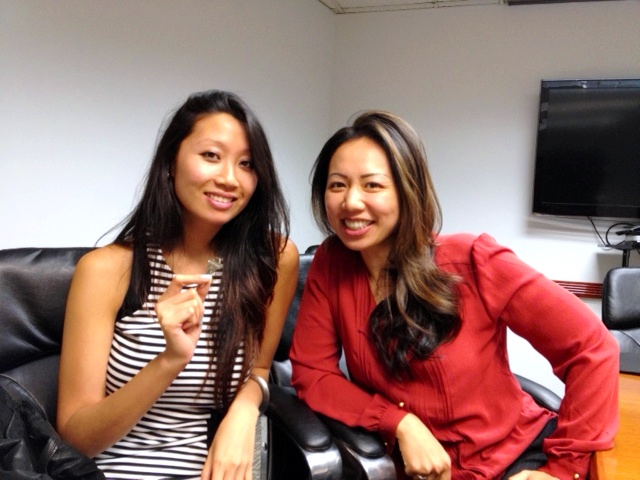 Mandarin Chinese Speaking Agent Eileen Hsu and her buyer who just bought her first condo in NYC!